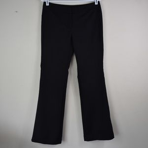 Worthington Size 4 Modern Fit Striped Black Pants